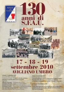 Celebrazioni Banda musicale SFAU per i 130 di storia